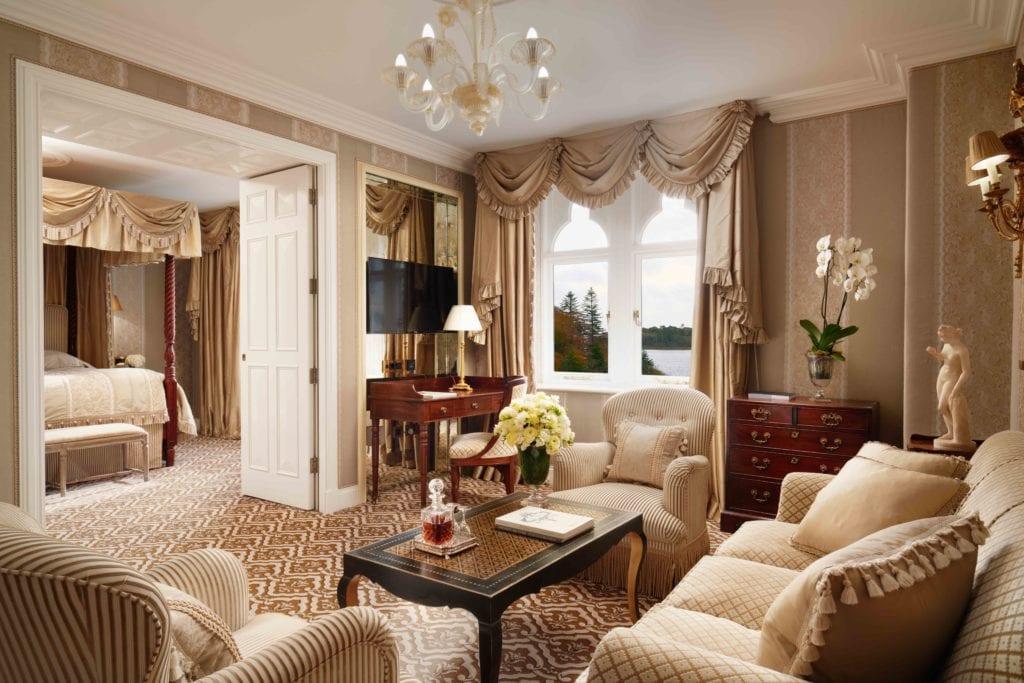 ashford castle junior suite lounge
