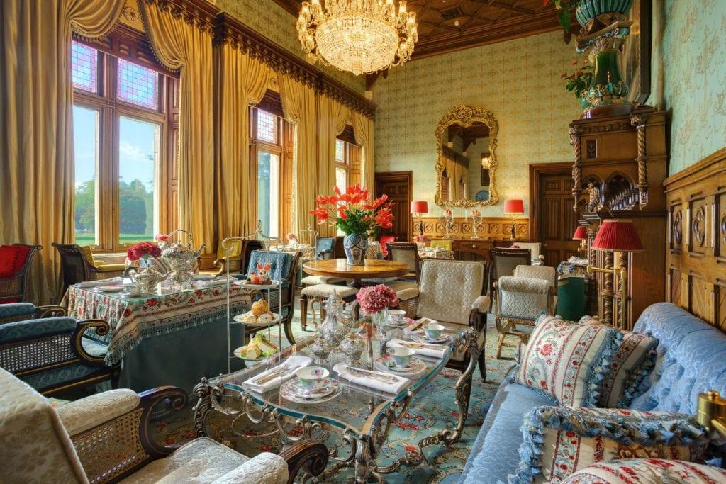 grand sitting room ashford castle ireland