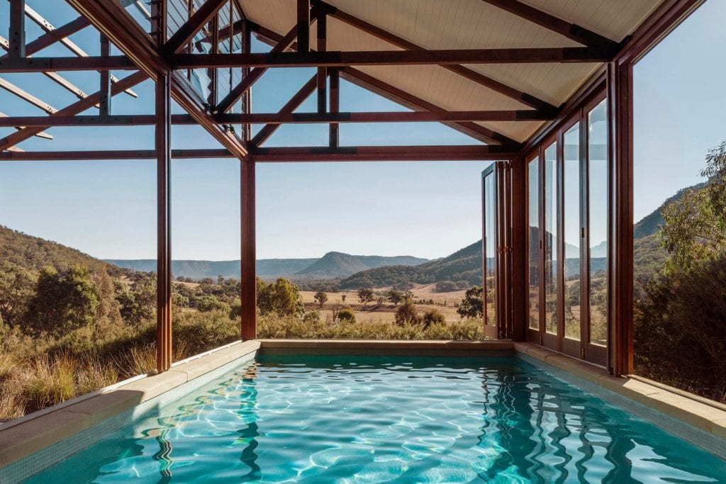 Australia One and Only Wolgan Valley Exterior Pool