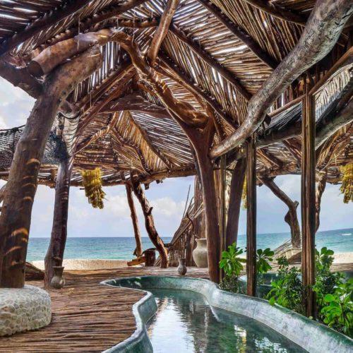 HERO Mexico Azulik Exterior Beach View