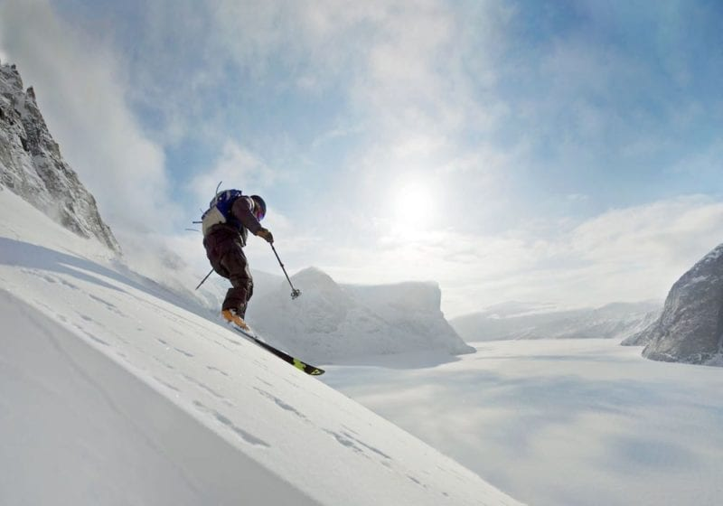 Ski with a view of the Fjords
