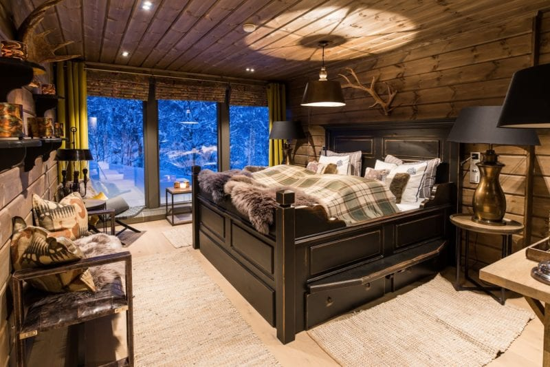 Exclusive and luxury lodge nestled deep into the natural environment