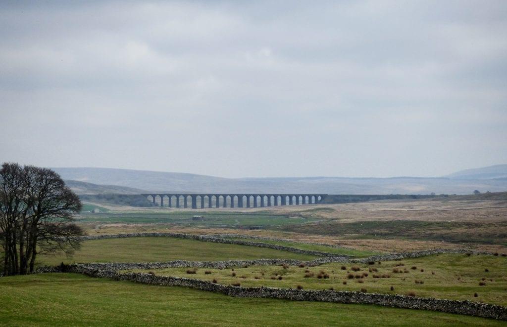 Bridge Landscape Yorkshire Moorland England