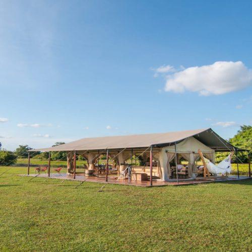 HERO Colombia Corocora Wildlife Camp Exterior