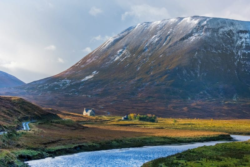Scotland's dramatic beauty captured here