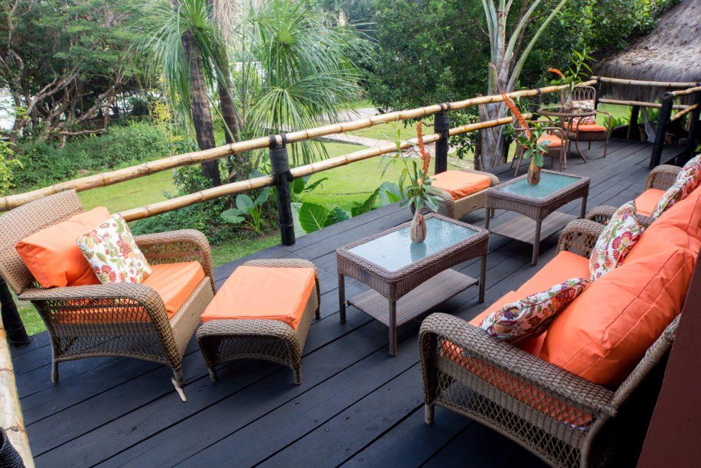 wakü lodge deck suite