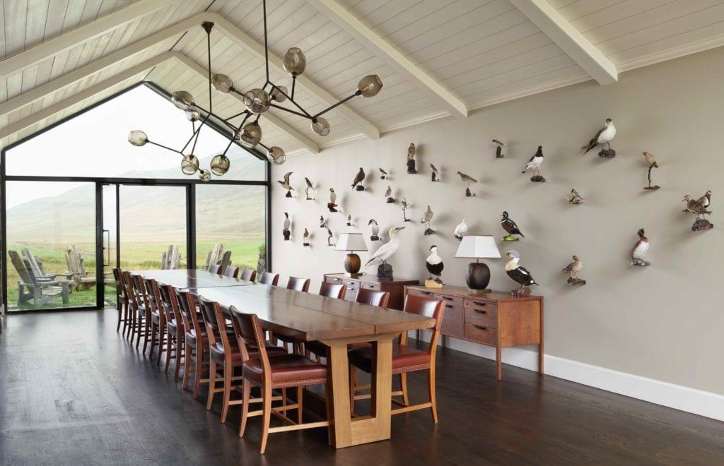 dining room table deplar farm iceland