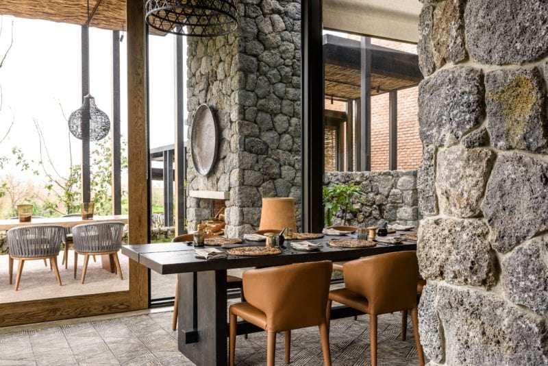 home to Rwandese cuisine and fresh produce