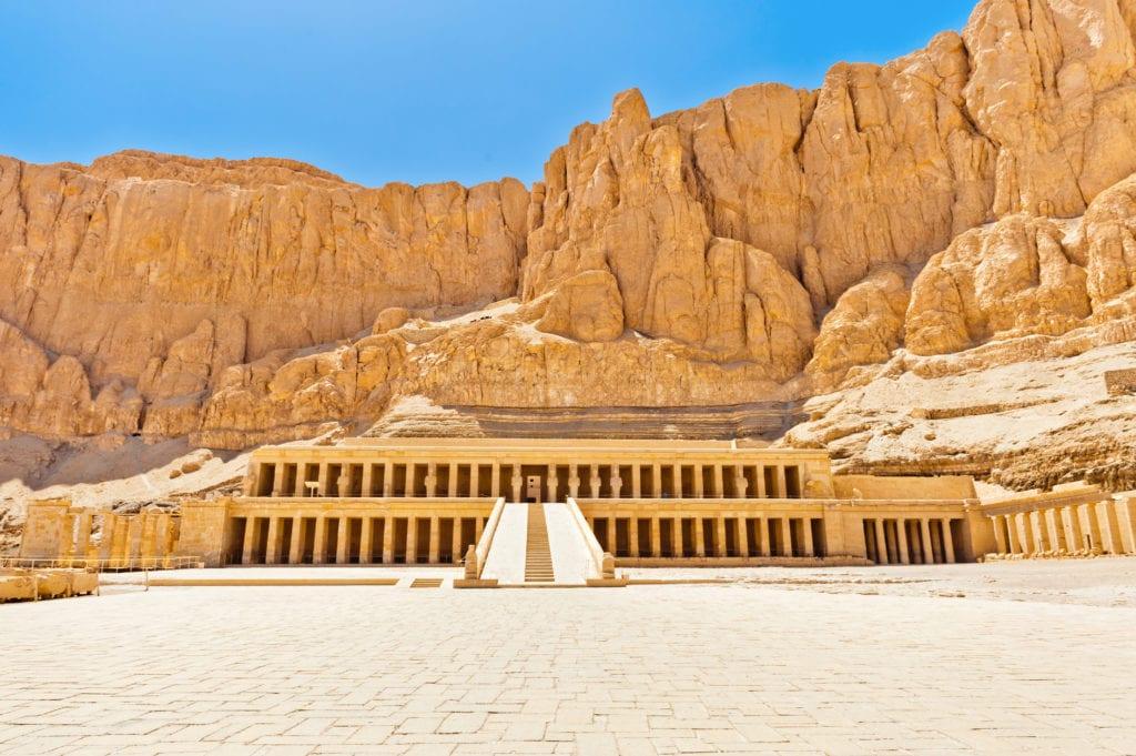Hatshepsut Temple in Egypt