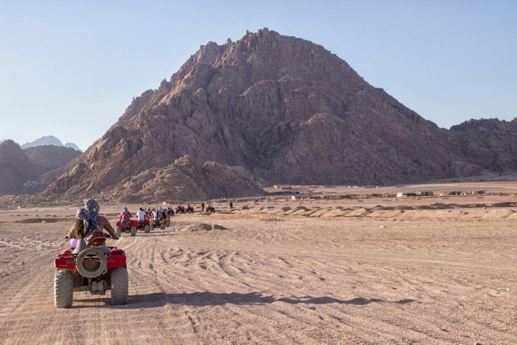 Quad biking in Egypt