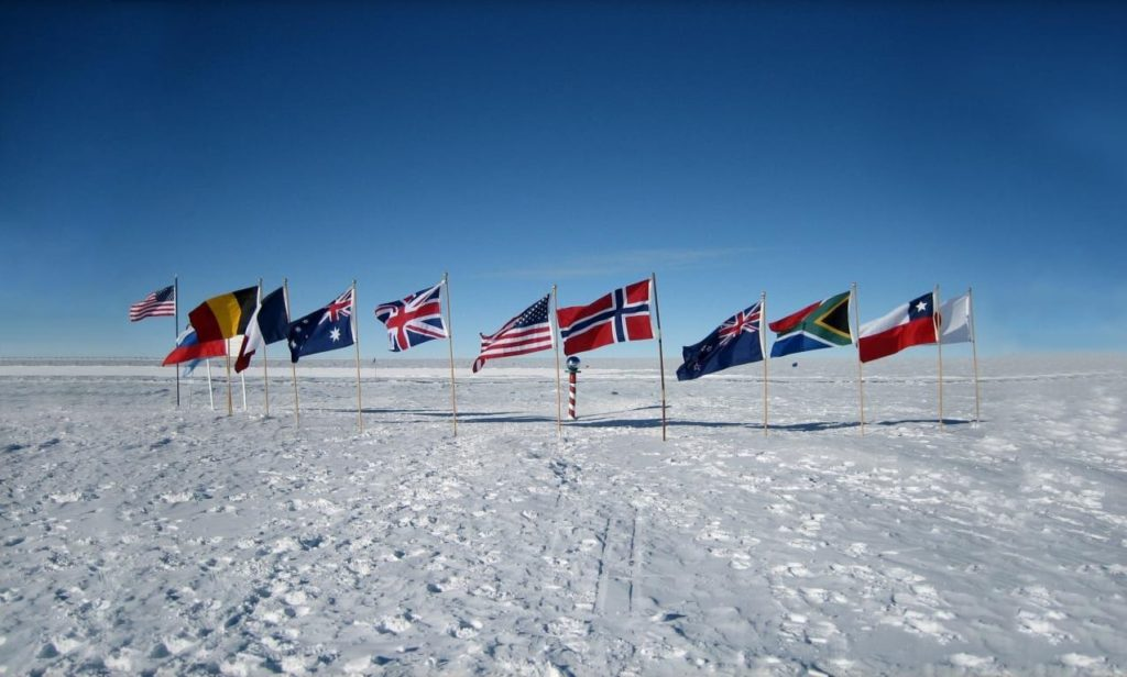 Antarctica Flags