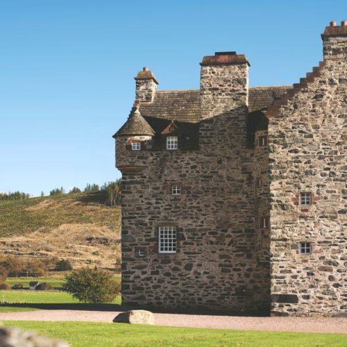 forter castle exterior scotland
