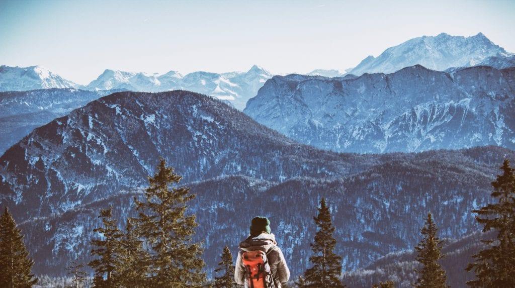 Germany Bavarian Alps Hiking
