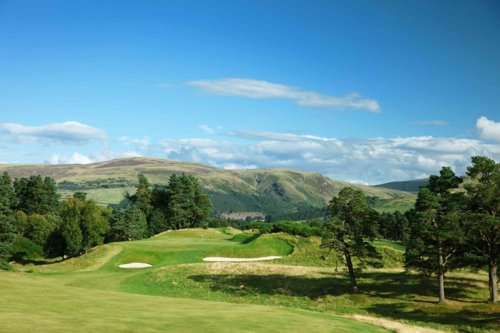 gleneagles hotel scotland golf landscape