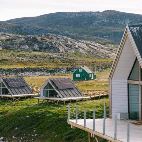 Greenland Llimanaq Lodge Huts Hero