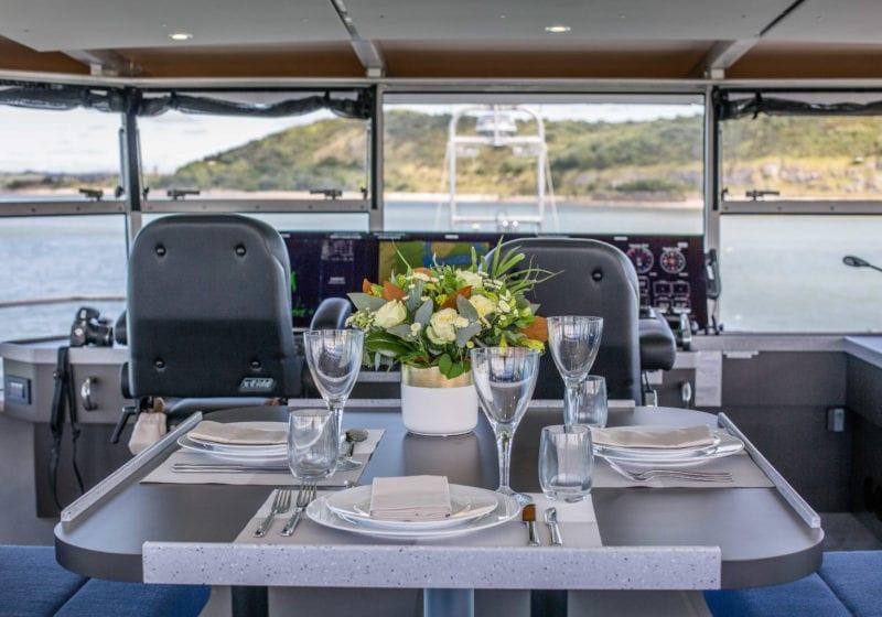 grey wolf yacht interior