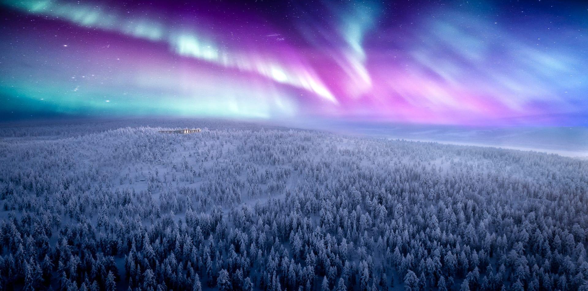 finland northern lights octola
