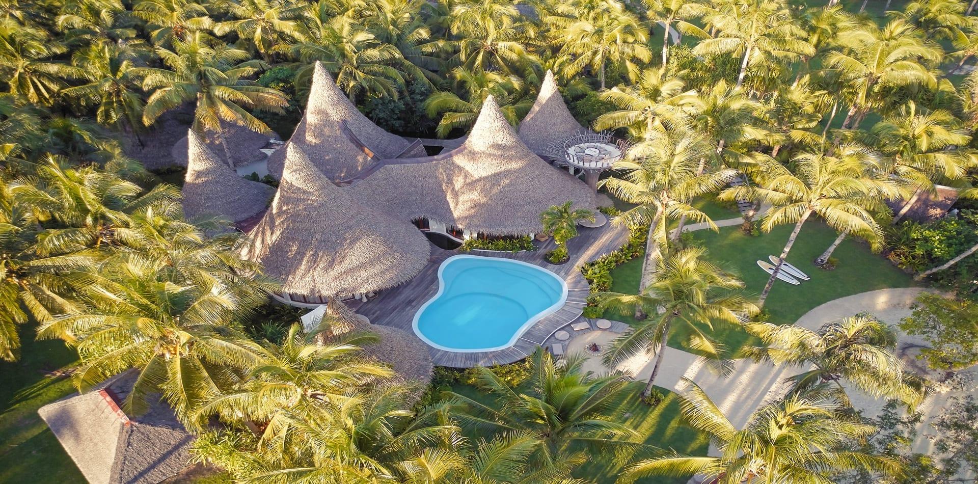 aerial view nay pad hideaway