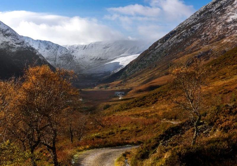 Highland cottage in Scotland's Alladale Wilderness Reserve