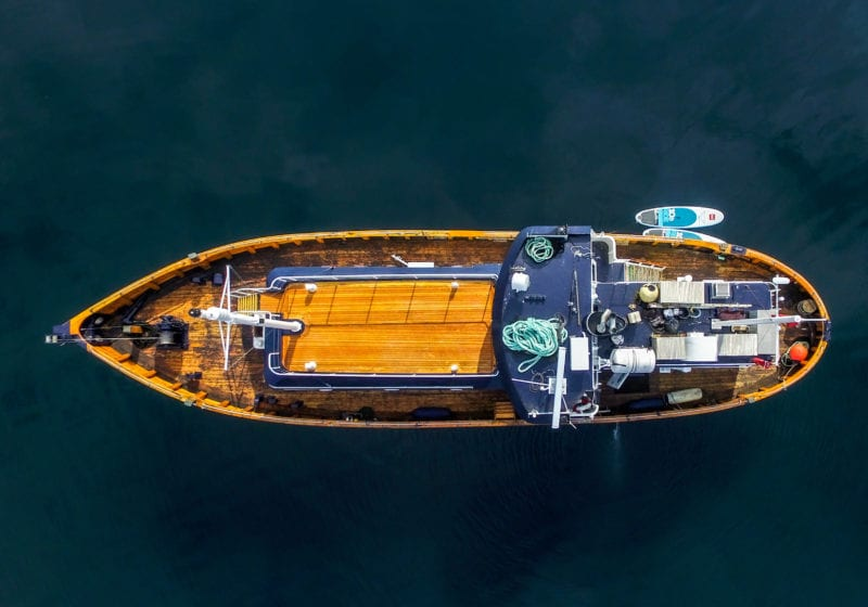 hms gassten yacht exterior Norway