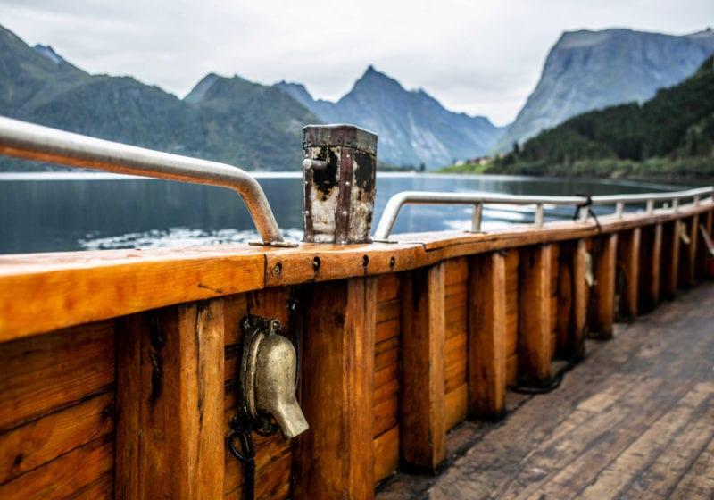 hms gassten yacht Norway exterior deck