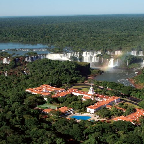 HERO Hotel Das Cataratas in front of Iguazu Falls Brazil