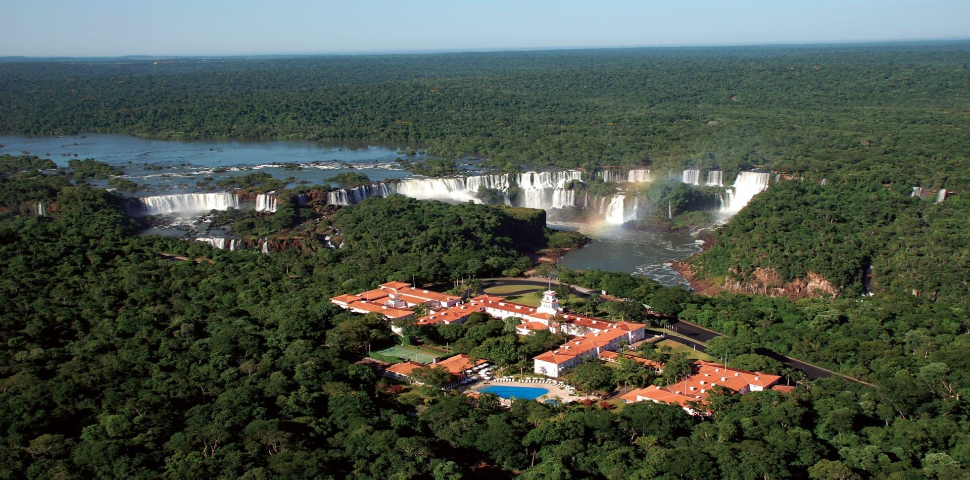 HERO Hotel Das Cataratas in front of Iguazu Falls Brazil