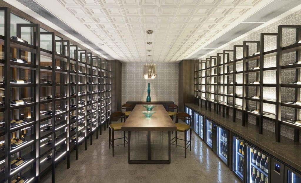 hyatt regency tashkent wine cellar