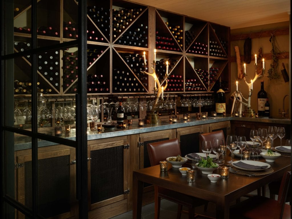 Iceland Deplar Farm Wineroom
