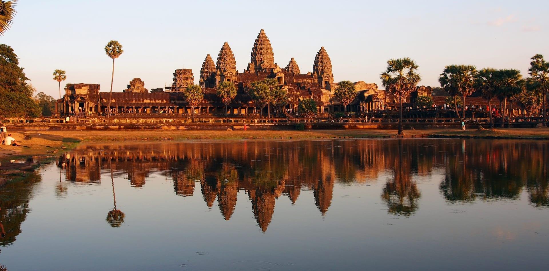 Indochina Cambodia Seam Reap Hero