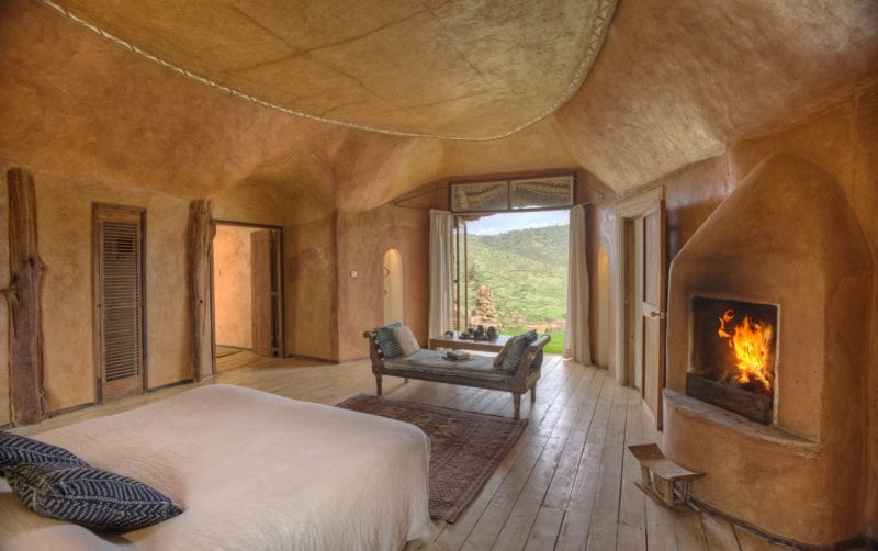beautifully decorated interior bedroom