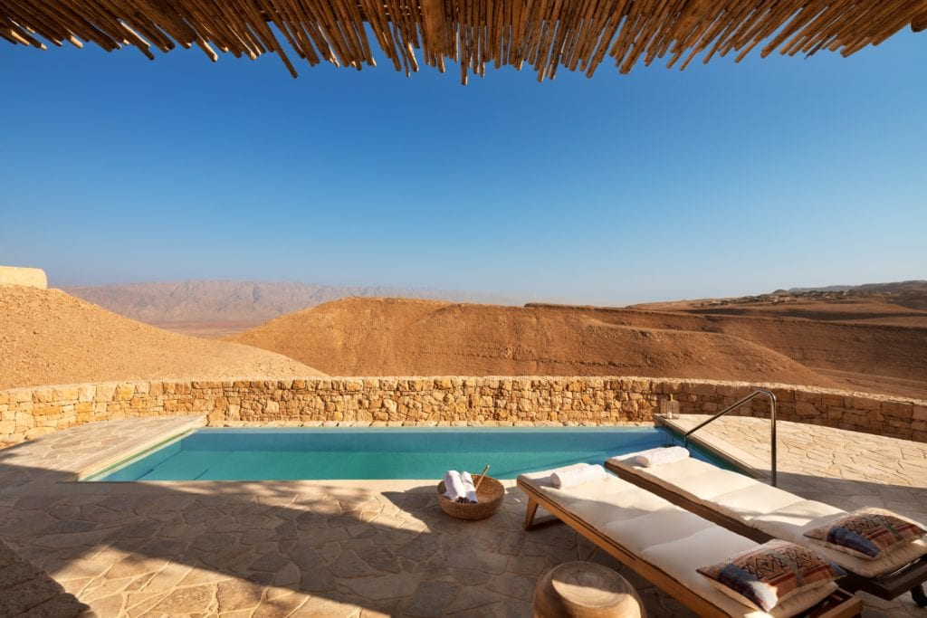 Israel Shaharut Villa Pool