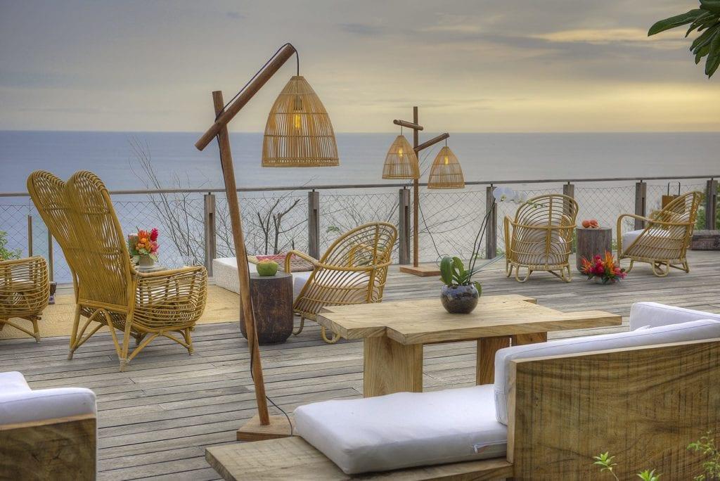kasiiya papagayo restaurant ocean view
