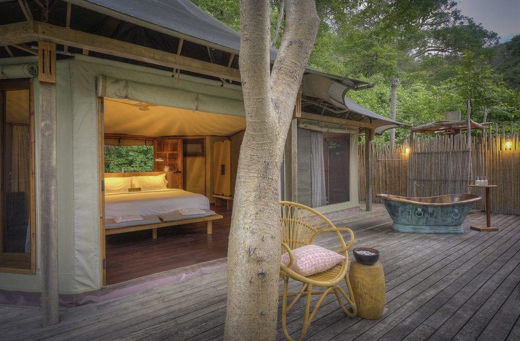 tented suite interior kasiiya papagayo