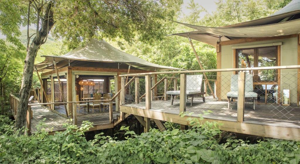 kasiiya papagayo tented suite jungle exterior
