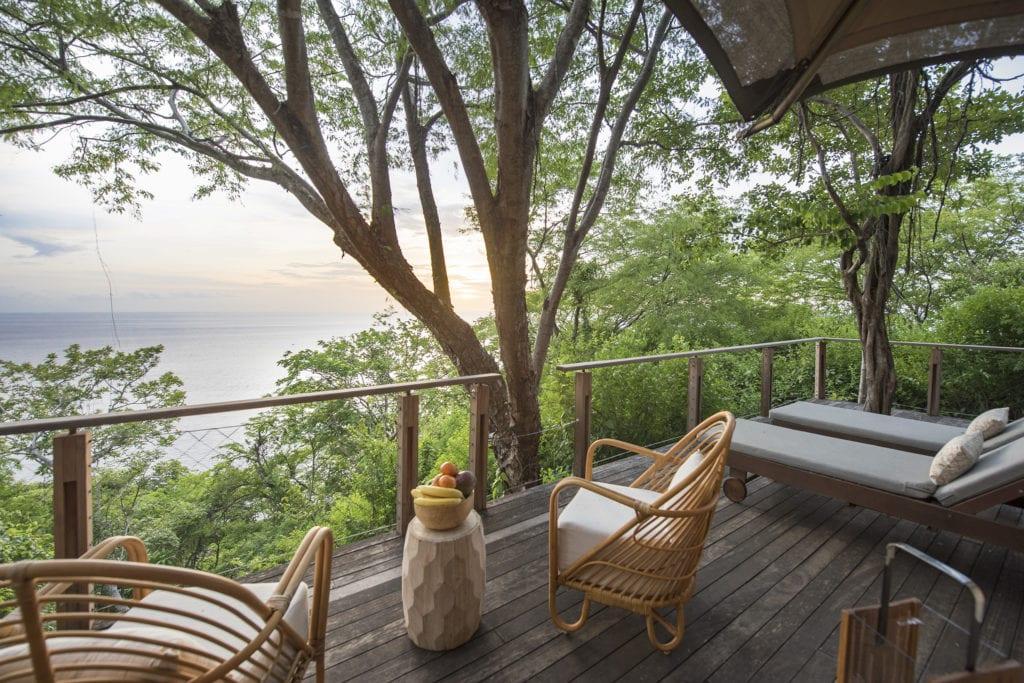 tented suite veranda kasiiya papagayo costa rica