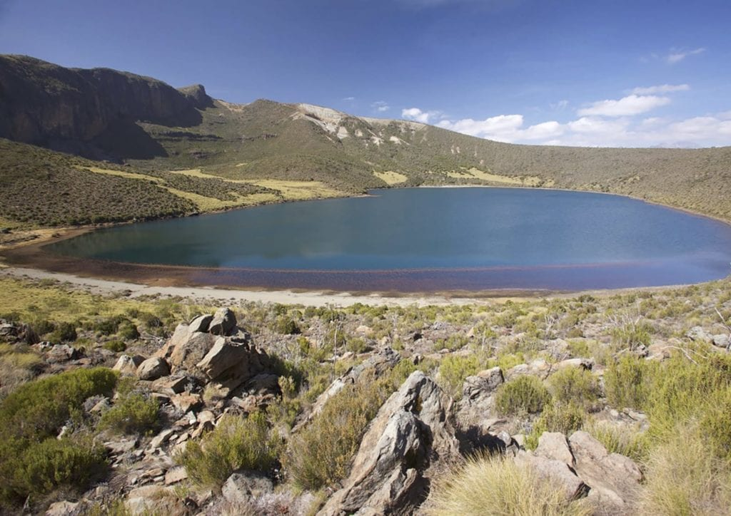 Fly Fishing Lakes in Kenya Mount Kenya Africa