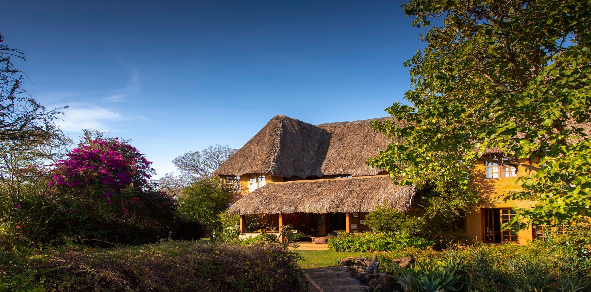 Kenya Lewa Wilderness Main House