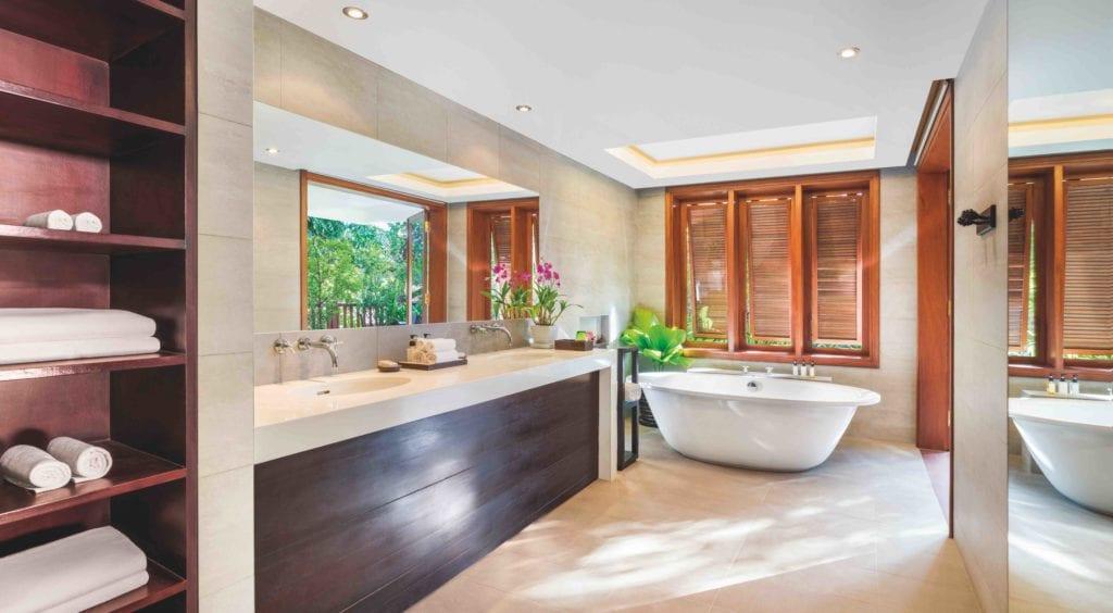 Cambodia La Residente Dangkor Bathroom