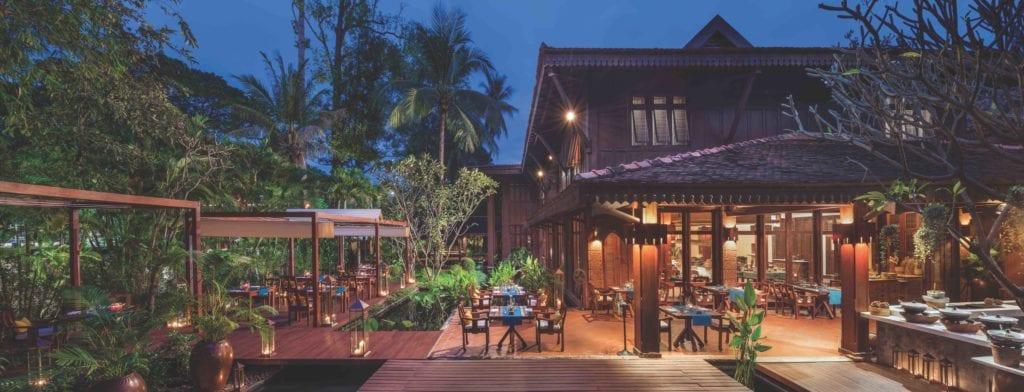 Cambodia La Residence Dangkor Outdoor Dining
