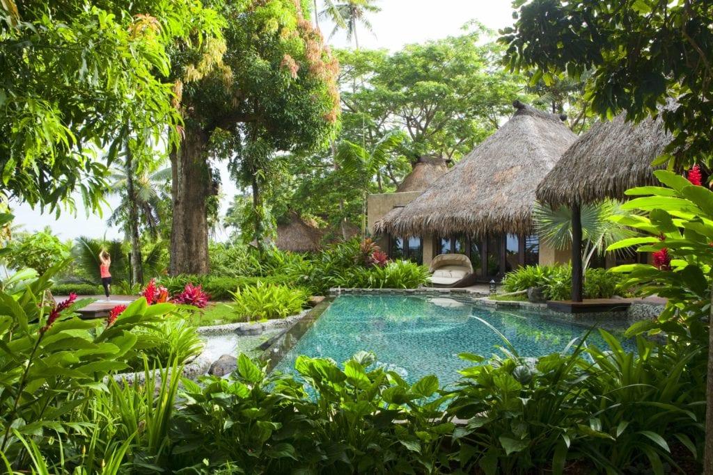 plateau villa pool garden laucala island