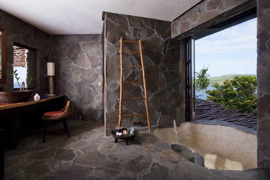 laucala island villa bathroom interior