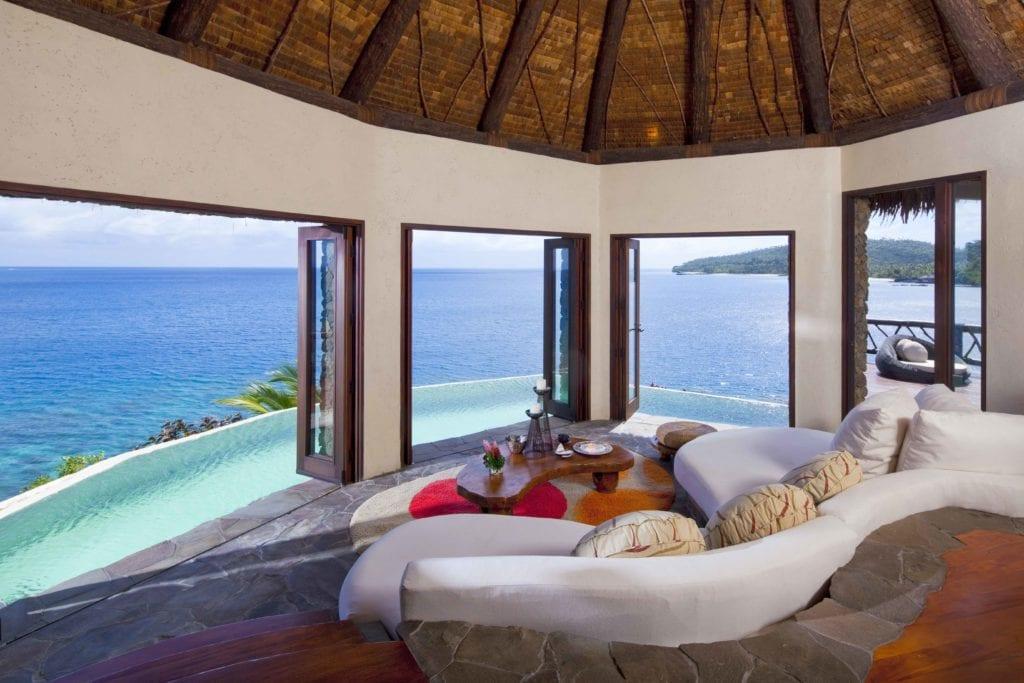 ocean view laucala island villa