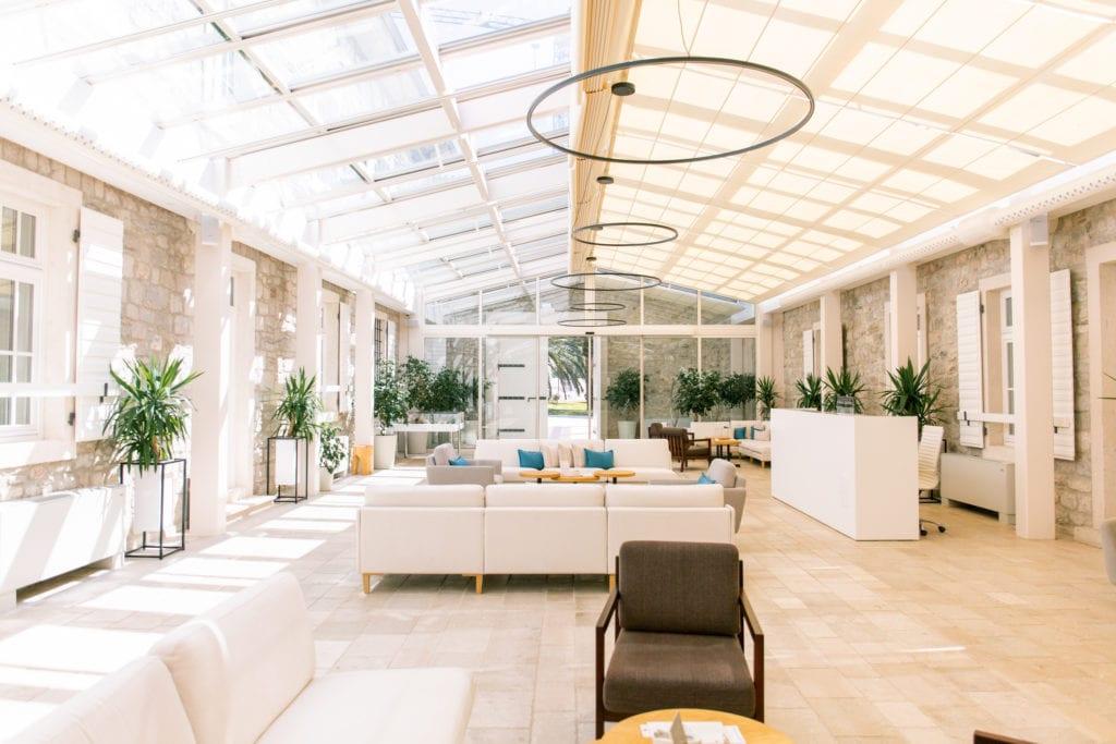 montenegro lazure hotel lobby interior