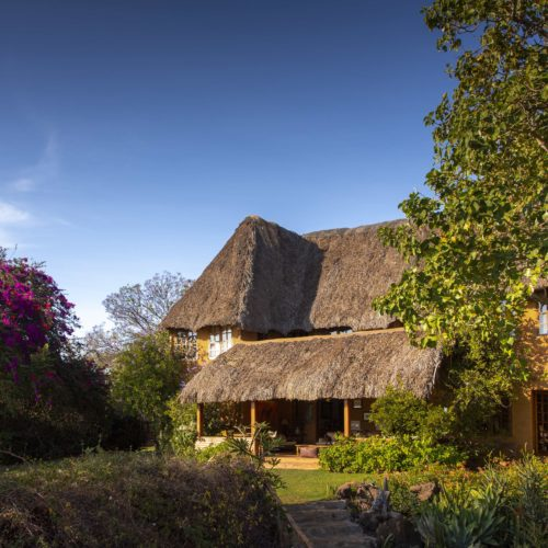 main house exterior lewa wilderness kenya