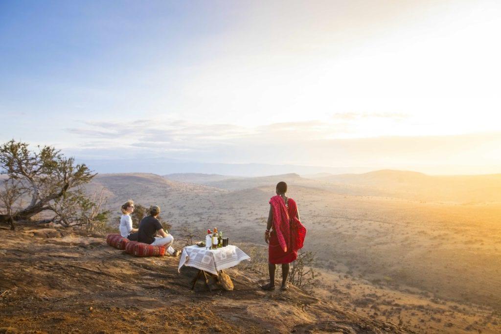 sundowners lewa wilderness kenya