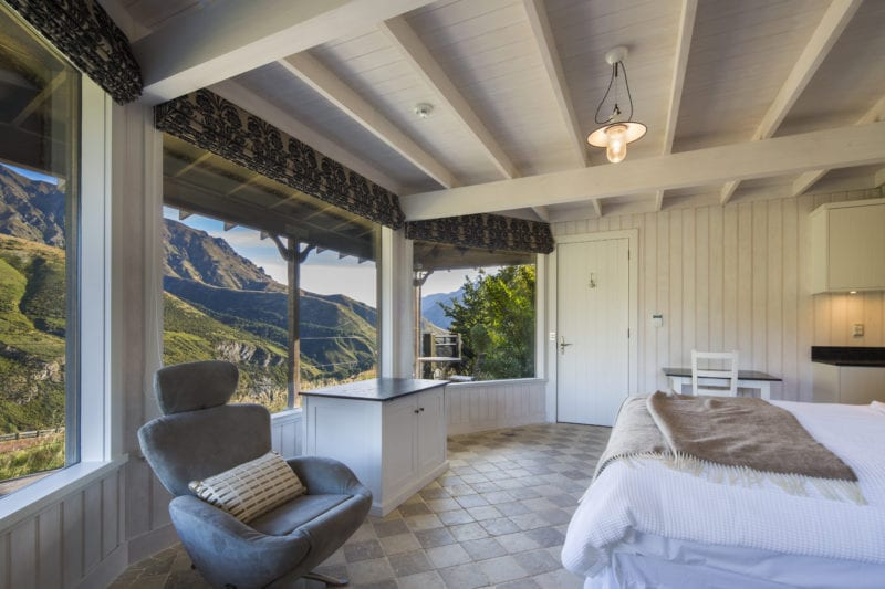 boasts captivating views of Lake Wanaka and the surrounding mountains