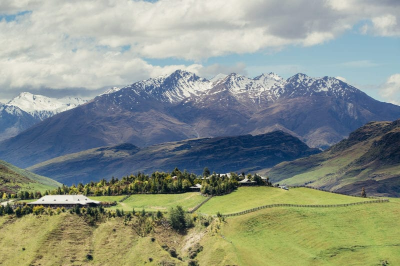 uninterrupted views of New Zealand's scenery