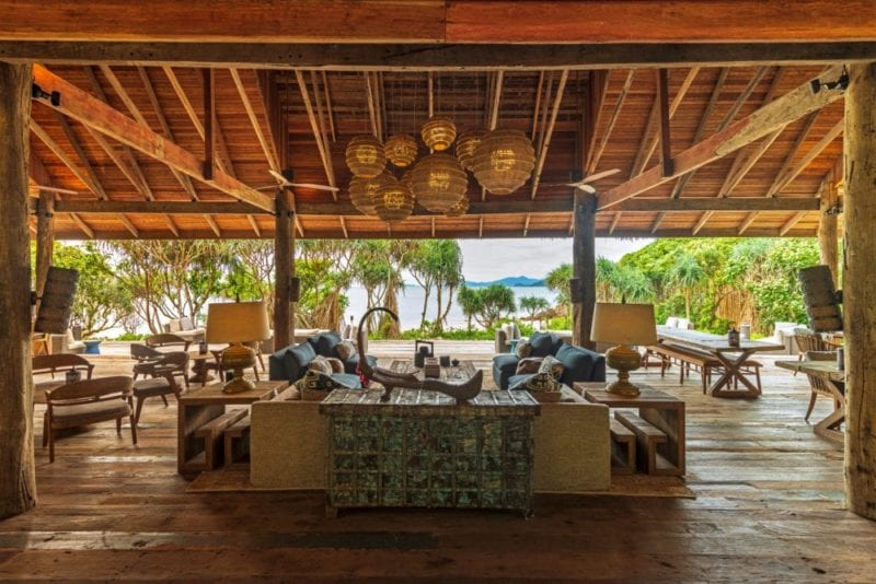 open air eco-chic restaurant