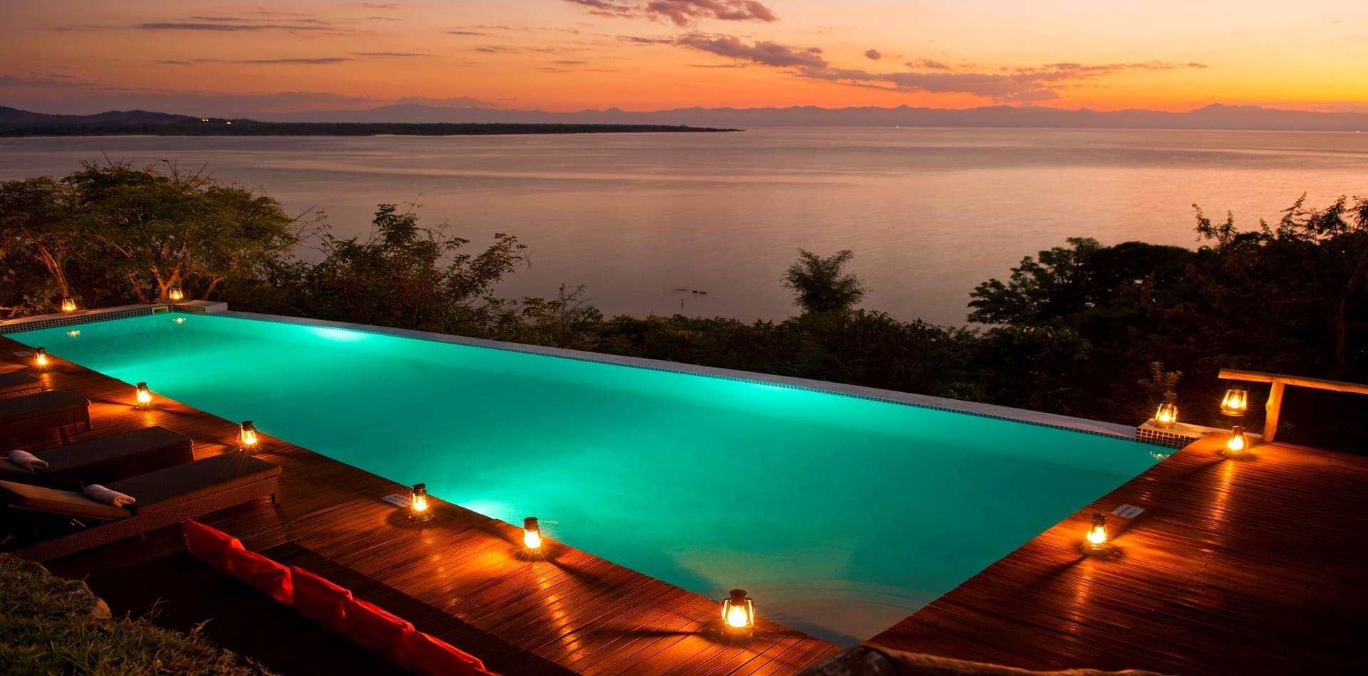 Malawi Pumulani Pool Sunset Hero